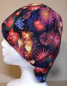 100% cotton, Welding, Biker, pipefitter,4 panel hat Fireworks