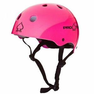 Protec Classic Skate Helmet Gloss Pink Punk  Size Small Skate Scooter Pro-Tec