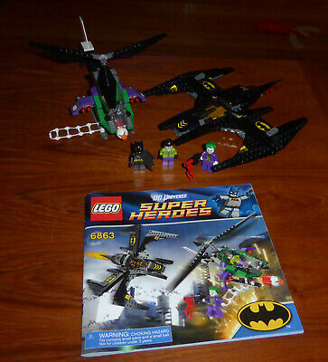 BATWING BATTLE OVER GOTHAM CITY #6863 DC SUPER HEROES RETIRED LEGO BATMAN