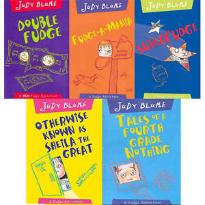 Judy-Blume-Collection-A-Fudge-Adventure-Series-5-Books-Age9-12-Paperback-English