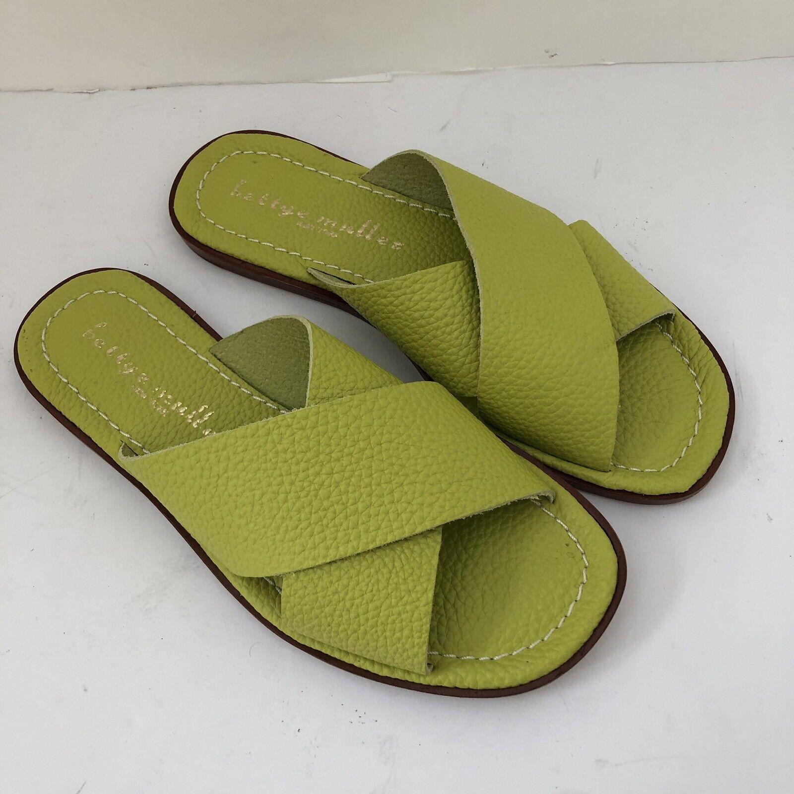 Bettye Muller Women's Keen Keen Keen Crisscross Slide Sandals 7.5  189 ce4922