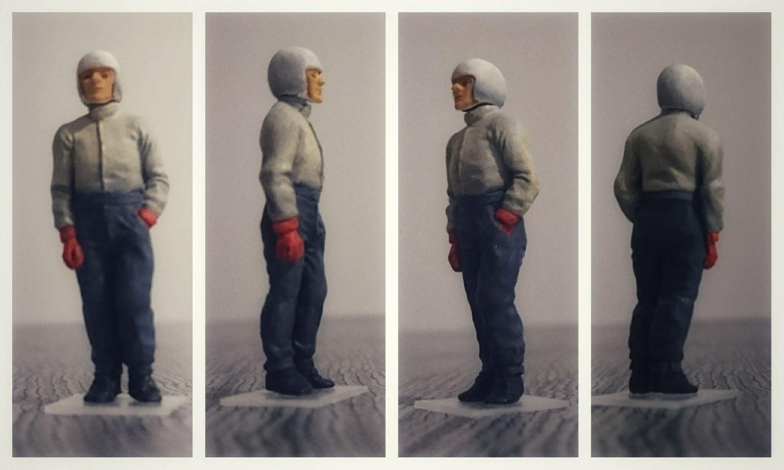 Bernd rosaMEYER figurine pilote diorama  driver figure