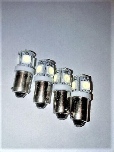 Leselampe Pos-Leuchte u.a T4W BA9S 5SMD weiss NEU 4 x 12V CANBUS LED für Boot