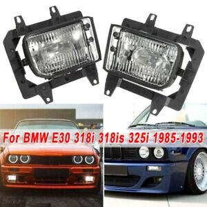 Auto-Luci-Fendinebbia-for-BMW-E30-318i-318is-325i-85-93-Ant-Paraurti-Guida-Luce