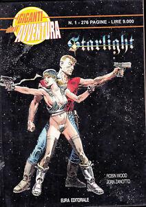 I GIGANTI DELL'AVVENTURA N° 1 - STARLIGHT - Ed.EURA | eBay