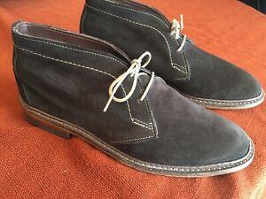 27f2483c0d7 Details about Allen Edmonds Amok Chukka Boots Brown Suede - 8 D Leather USA