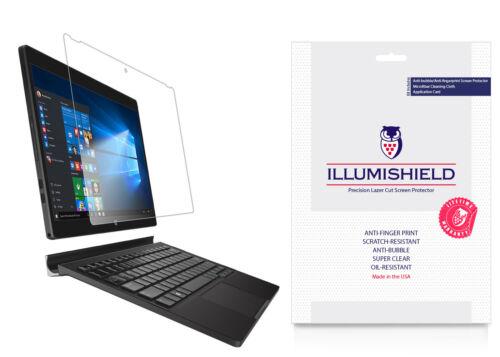 iLLumiShield Screen Protector w Anti-Bubble//Print 2x for Dell XPS 12 {2015}