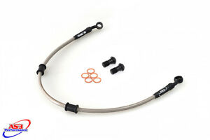 TRIUMPH-THUNDERBIRD-900-1995-1997-AS3-VENHILL-BRAIDED-FRONT-BRAKE-LINES-HOSES