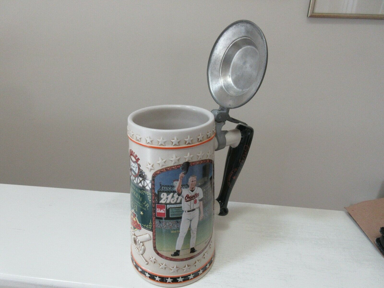 Cal Ripken Jr. , Beer Stein , Longton Crown , # D0753 ,