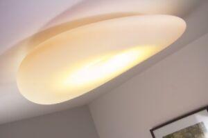 Deckenleuchte design leuchte made in italy weiß deckenstrahler lampe