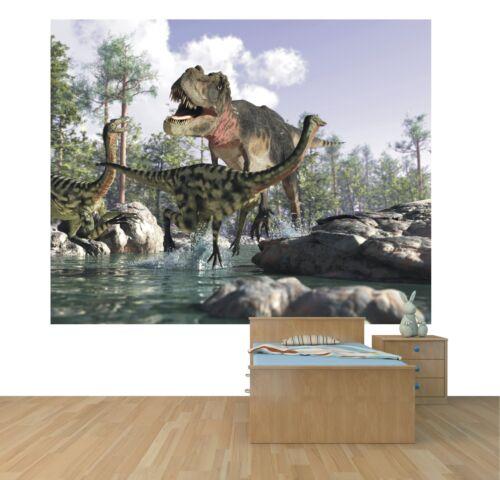 Dinosaur tapete wandkunst wandtapete design jungen schlafzimmer stil 1 wm330