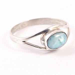 Larimar-Rings-Sterling-Silver-Natural-Dominican-Larimar-Vintage-Ring-Mom-Gift