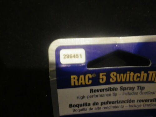 NEW GRACO RAC 5 SWITCH TIP 286XXX   OR 286451 OR  # 451