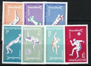 Soccer World Cup Comfortable Feel Albania Albania Sc 1527-345 Nh Issue Of 1973