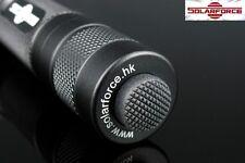 Solarforce L2 18650/CR123A Forward Clicky Flashlight Body Host - Black