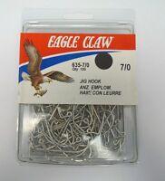 Eagle Claw Classic Jig Hooks Quantity Of 100 635 Size 5/0 140x