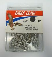 Eagle Claw Classic Jig Hooks Quantity Of 100 635 Size 5/0 140x