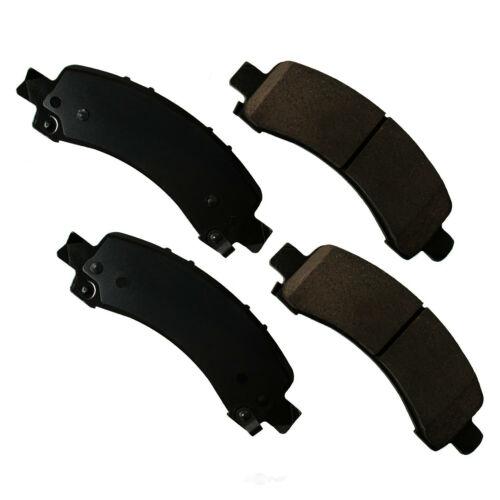 Disc Brake Pad Set-ProACT Ultra Premium Ceramic Pads Rear Akebono ACT974A
