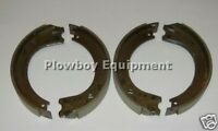 8n2200b Set 4 Brake Shoes For Ford Tractor Naa Jubilee 8n Drum Type