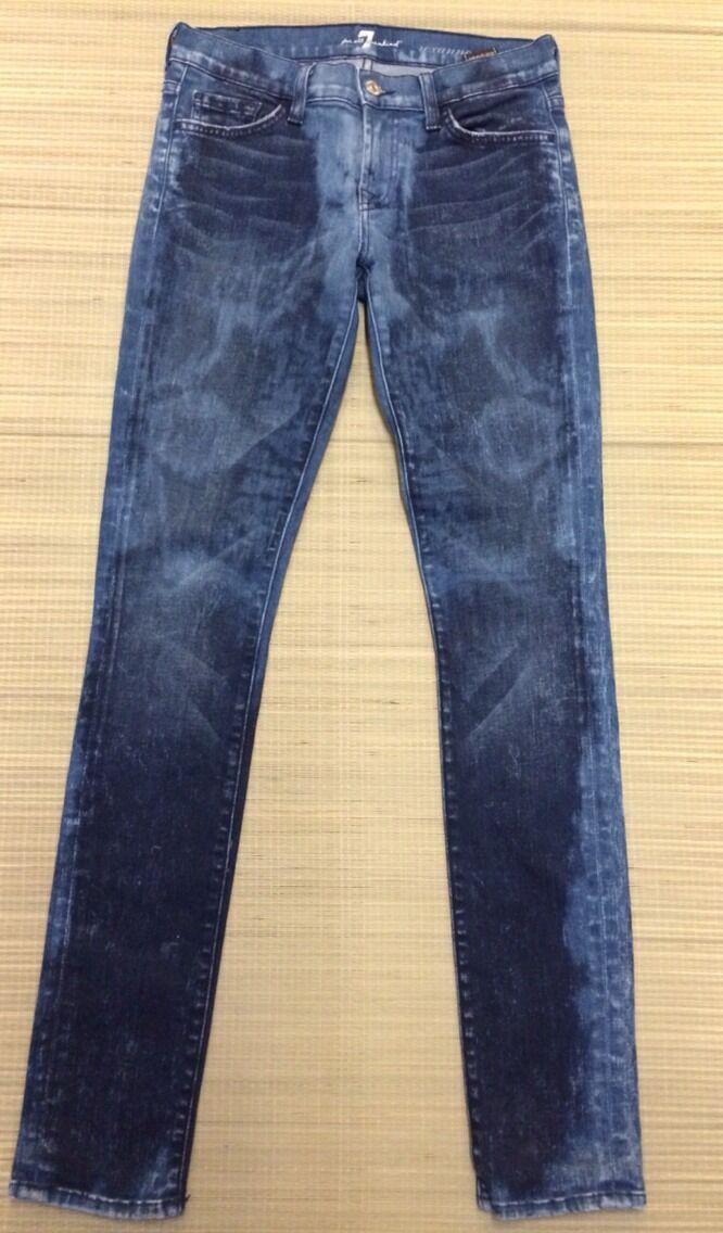 7 For all mankind Women's Roxanne skinny jeans sz 26
