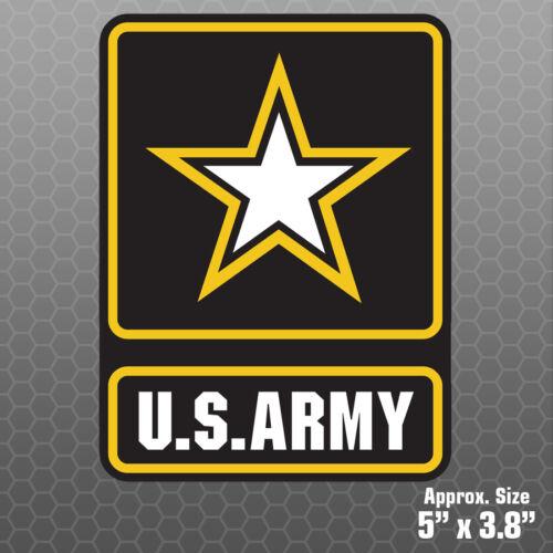 US Army Sticker Military car truck vinyl decal bumper window emblem USA