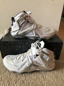 sports shoes 2d578 71407 Image is loading Nike-LeBron-12-XII-Elite-Pigalle-X-Size-