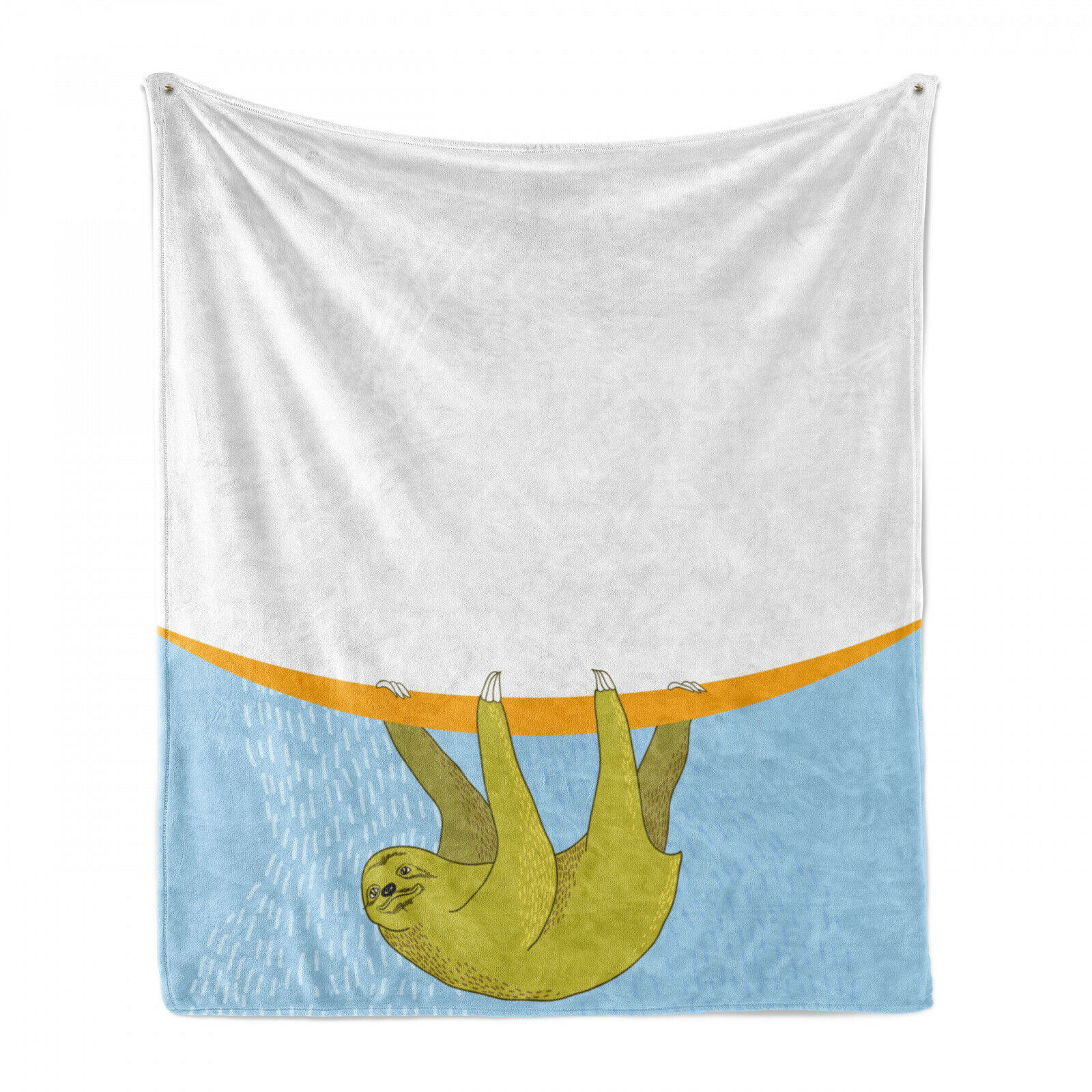 Lazy Animal Soft Flannel Fleece Blanket Underwater Fauna Flora