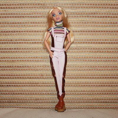 Amichevole My Scene La Mia Citta 'il Mio Stile Chillin Fuori Barbie Doll-mostra Il Titolo Originale