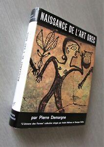 L-039-UNIVERS-DES-FORMES-Naissance-de-l-039-Art-GREC-P-Demargne-1964-Bel-exemplaire