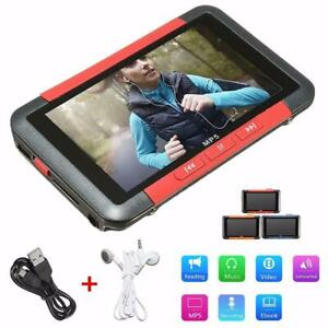 3'' Touch Screen 8/16GB MP5 MP3 Player Portable Music Player FM Radio Recorder