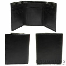 Mens / Gents Nappa Leather Handy Tri-Fold Wallet with Multiple Features