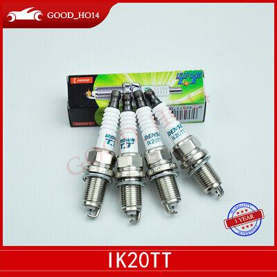 For Set of 4 Spark Plugs Denso Iridium TT for Lexus Mazda Nissan Toyota L4