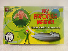 MY FAVORITE MARTIAN Model Kit : Spaceship and Uncle Martin Figure : NEW Sealed