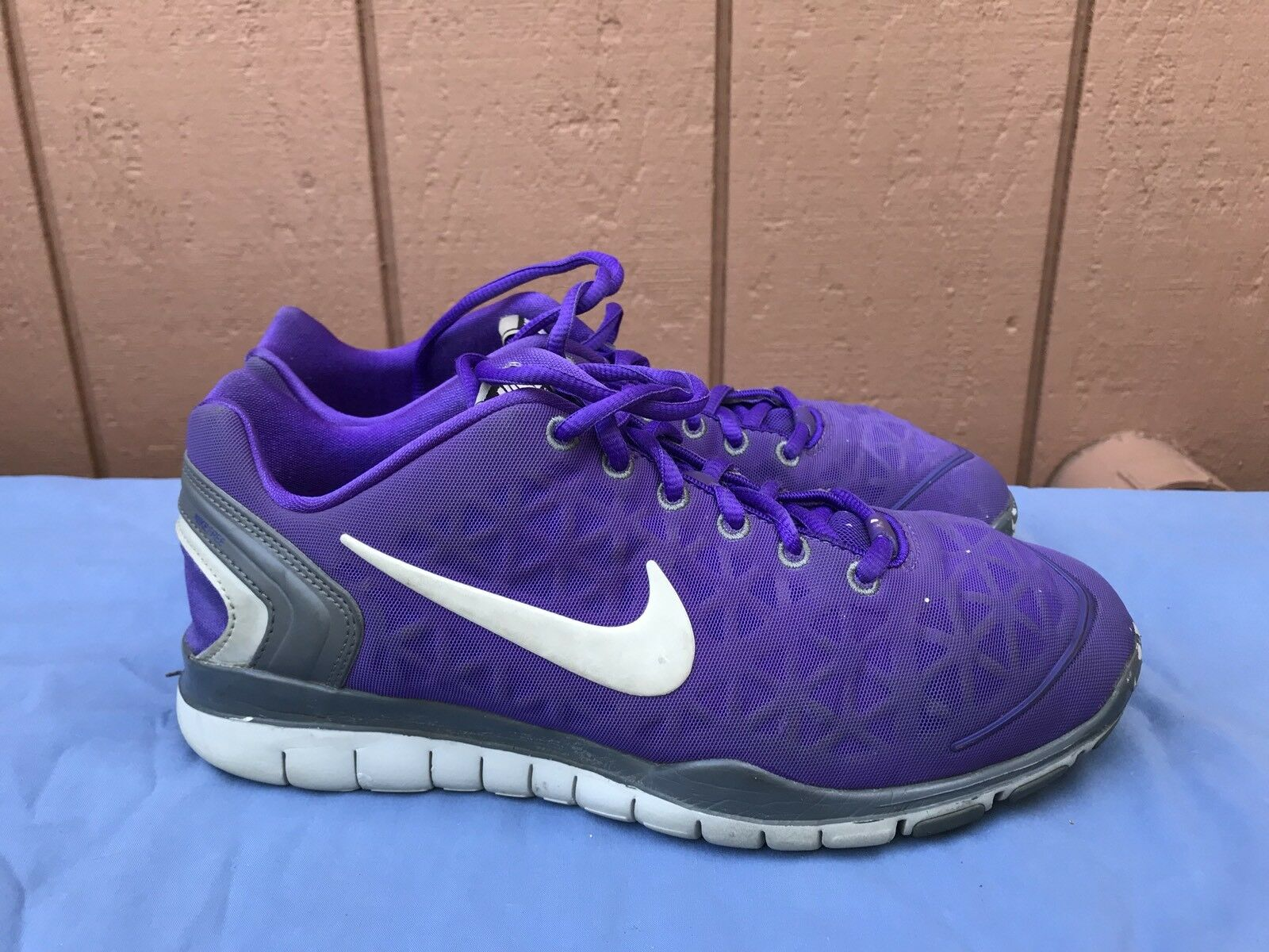 NIKE FREE FIT Running 2 Running FIT Shoes 2013 Size US 7.5M Purple Gray 487789-500 A5 220ee8