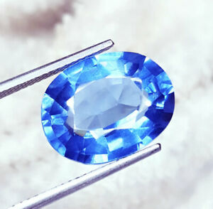10.47 Ct Loose Gemstone Natural Blue Sapphire Ring Size Transparent Certified