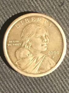 Very Rare Cheerios 2000 P Sacagawea Dollar Coin Selling Between