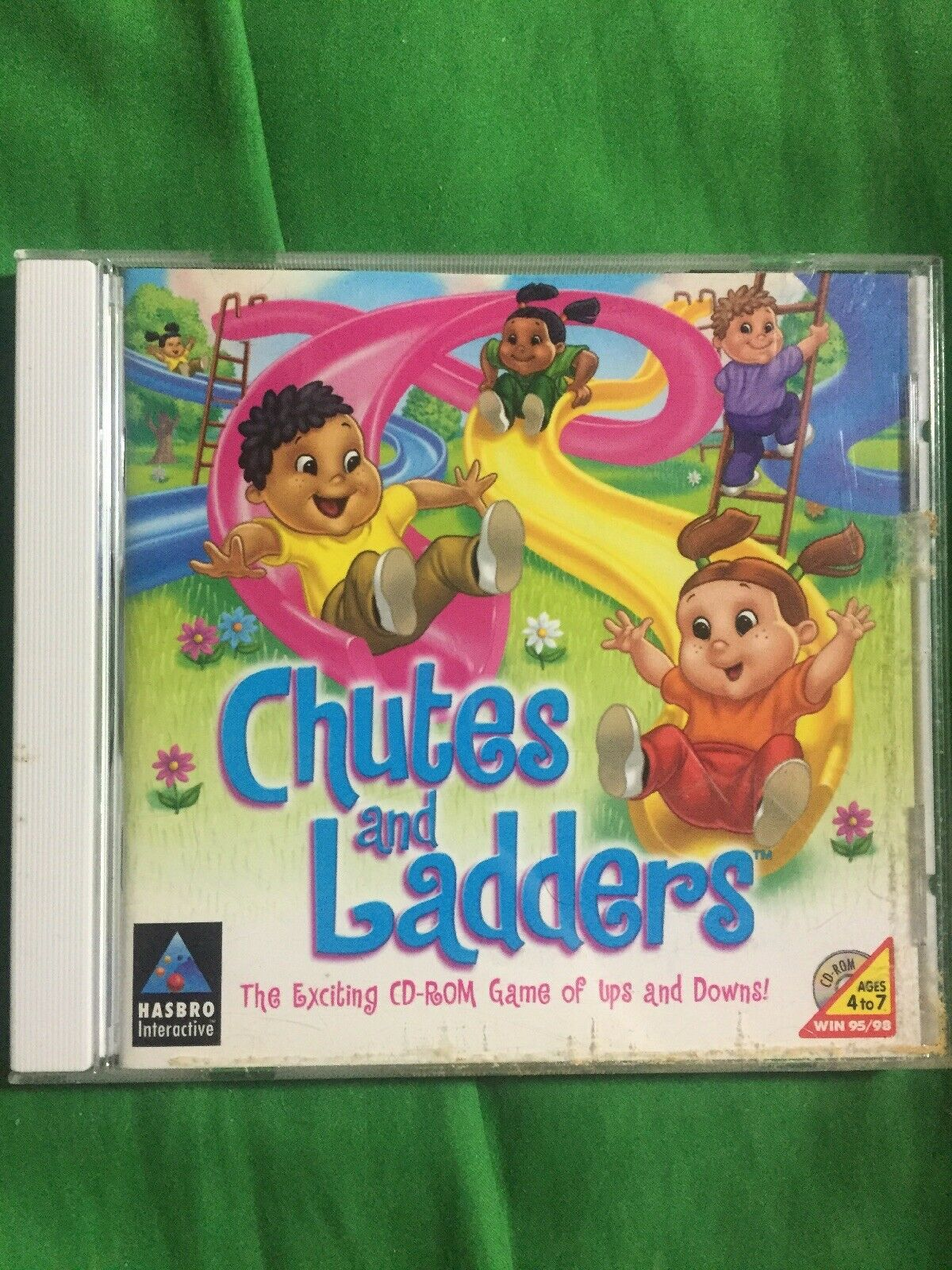 Chutes And Ladders Jewel Case Pc 1999 For Sale Online Ebay Also don't forget to follow me on other socials. chutes and ladders jewel case pc 1999