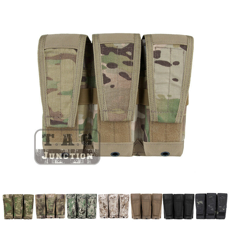 Emerson Tactical Modular 5.56 .223 Triple Magazine  Pouch MOLLE Mag Carrier Bag  inexpensive
