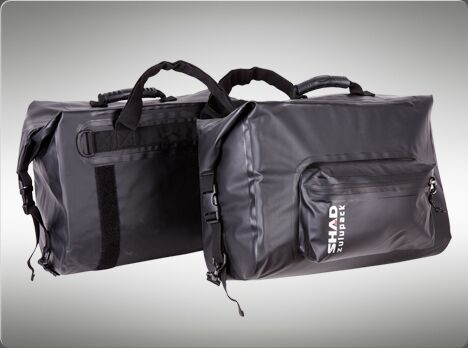 SHAD 42L Saddlebags Panniers Motorbike replaces Wolfman