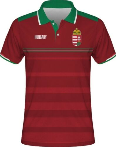 2018 Hungary Football Soccer Polo T-Shirt SZALAI GYURCSO GERA LANG KADAR UGRAI