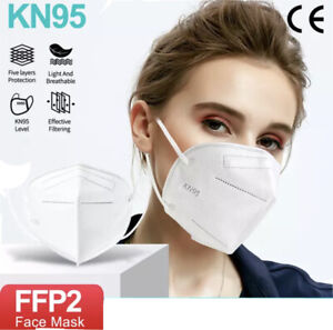 20 Masques Protection Adulte 5 Couches Certification protection