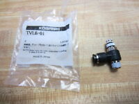 Koganei Tvl6-01 Tube Line Connector Flow Control Tvl601 (pack Of 6)