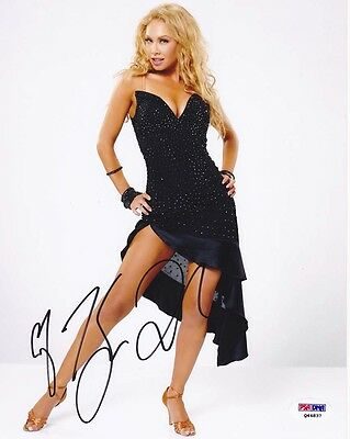 Entertainment Memorabilia Special Section Kym Johnson Signed 8x10 Photo Dwts Psa/dna Dancing With The Stars Autographed Autographs-original