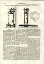1889 Stone Cutting Machinery Traigneaux Quarry Belgium Paris Plans