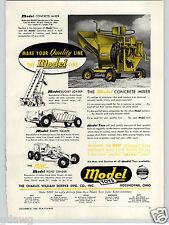 1948 PAPER AD Doepke Model Toy Toys Concrete Mixer Bucket Loader Road Grader +