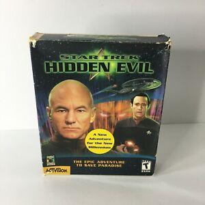 Star Trek: Hidden Evil (PC, 1999) Big Box PC, Cd game