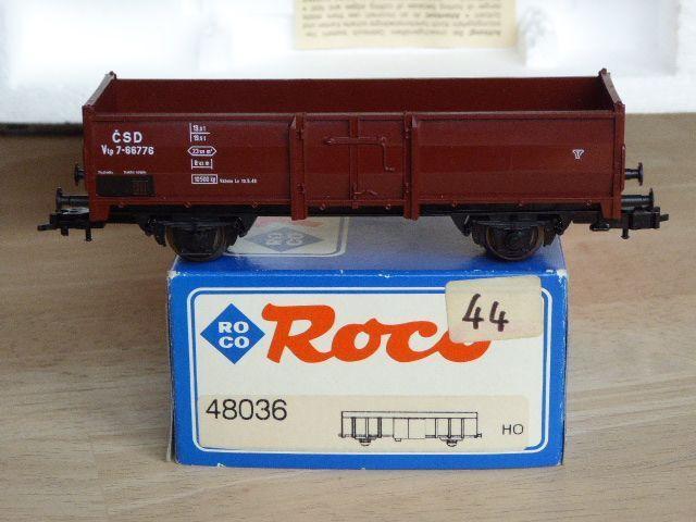Roco 48036 Open Goods Wagon Vtp the Csd Rp.3 4 Neuwertig Boxed with Kk and Nem