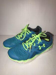 Under Armour Micro G Monza Womens Running shoes 1249946-472 Sz 7.5 ... d358480093