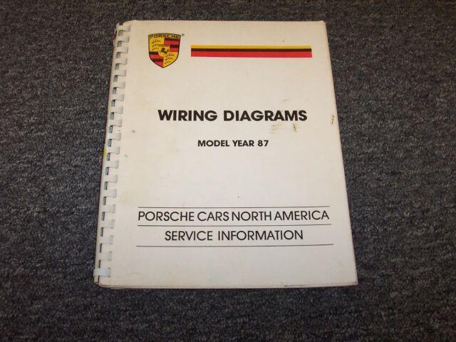 1987 Porsche 911 Carrera Turbo 924s 928s 4 Electrical