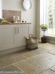 Tumbled-Umbrian-Jaipur-Limestone-Floor-Tiles-Flagstones-Grand-Opus-Pattern